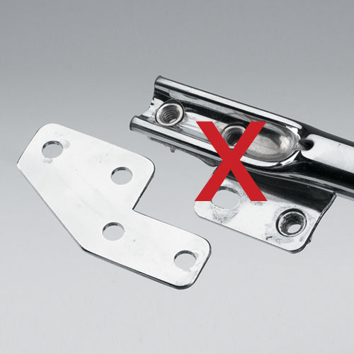 License Plate Bar Eliminator Bracket