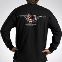 Devil Long Sleeve T-Shirt - Black