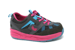 MT. Emey MTX16 Pink - Kids Extra Depth  Athletic Walking Shoes with Laces