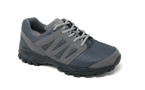 Mt. Emey 9704 Gray -Men Athletic Mesh Lace Walking Shoes