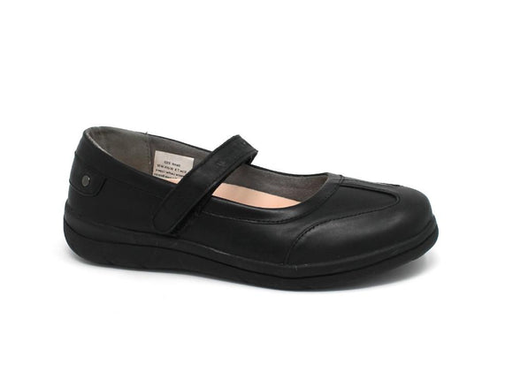 Mt. Emey 9320 Black - Lady's Added-Depth Extreme-Light  Carol Shoes