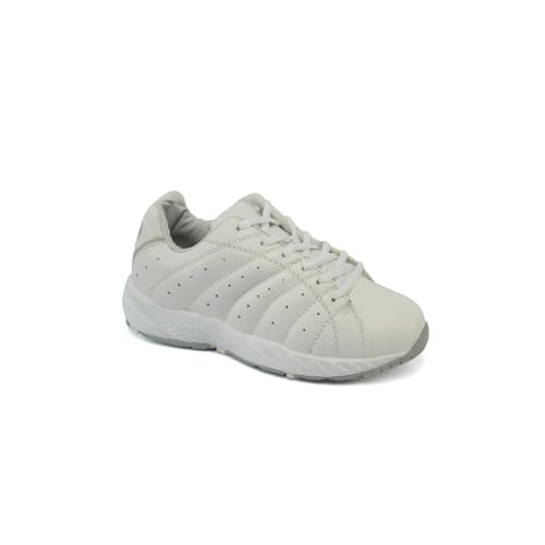 Answer2 447-3 White/silver - Womens Athletic Walking Shoes - Shoes