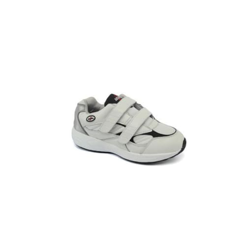 Answer2 554-3V White/navy - Mens Athletic Walking Shoes With Staps - Shoes
