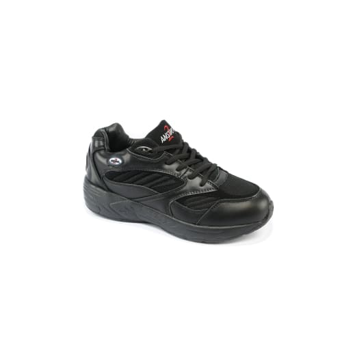 Anwser2 554-1 Black - Mens Athletic Walking Shoes With Laces - Shoes