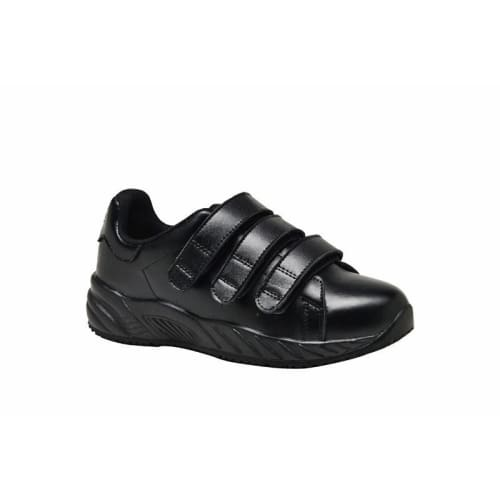 Mt. Emey 3402 Black - Womens Added Depth Oil/slip Resistant Shoes With Straps - Shoes