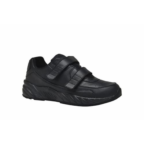 Mt. Emey 3404 Black - Womens Added Depth Oil/slip Resistant Shoes With Straps - Shoes