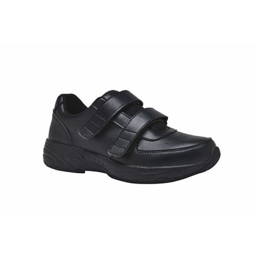 Mt. Emey 4404 Black - Mens Added Depth Oil/slip Resistant Shoes With Straps - Shoes