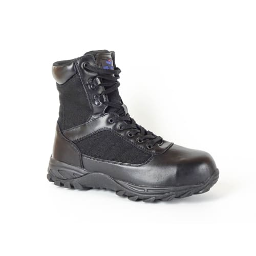 Mt. Emey 6506 Black - Mens Composite Toe Work Boots - Shoes