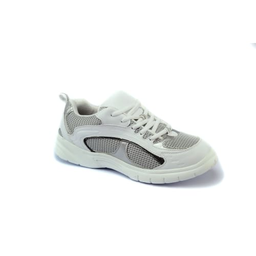 Mt. Emey 9701-5L White/gray - Mens Extra-Depth Athletic/walking Shoes With Laces - Shoes