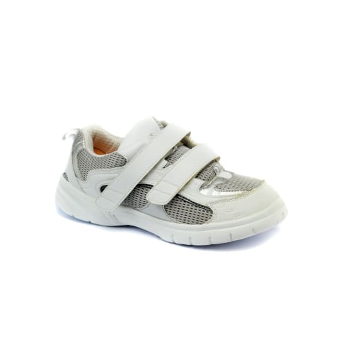Mt. Emey 9701-5V White/gray - Mens Extra-Depth Athletic/walking Shoes With Straps - Shoes