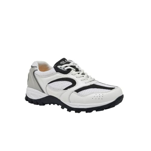 Mt. Emey 9702-3L White - Mens Explorer I Black Athletic Shoe With Laces - Shoes