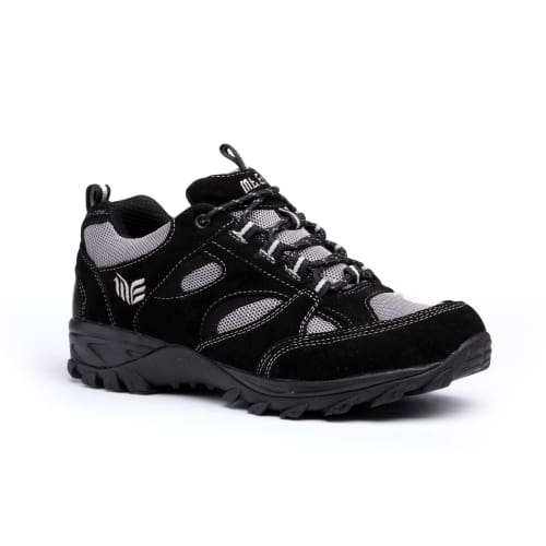 Mt. Emey 9708-1L Black - Mens Extreme-Light Athletic Walking Shoes - Shoes