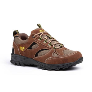 Mt. Emey 9708-2L Brown - Mens Extreme-Light Athletic Walking Shoes - Shoes