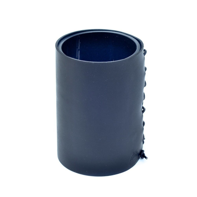 Leather Wrapped Vase - Black