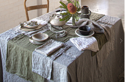 Basix Linen Table Runner