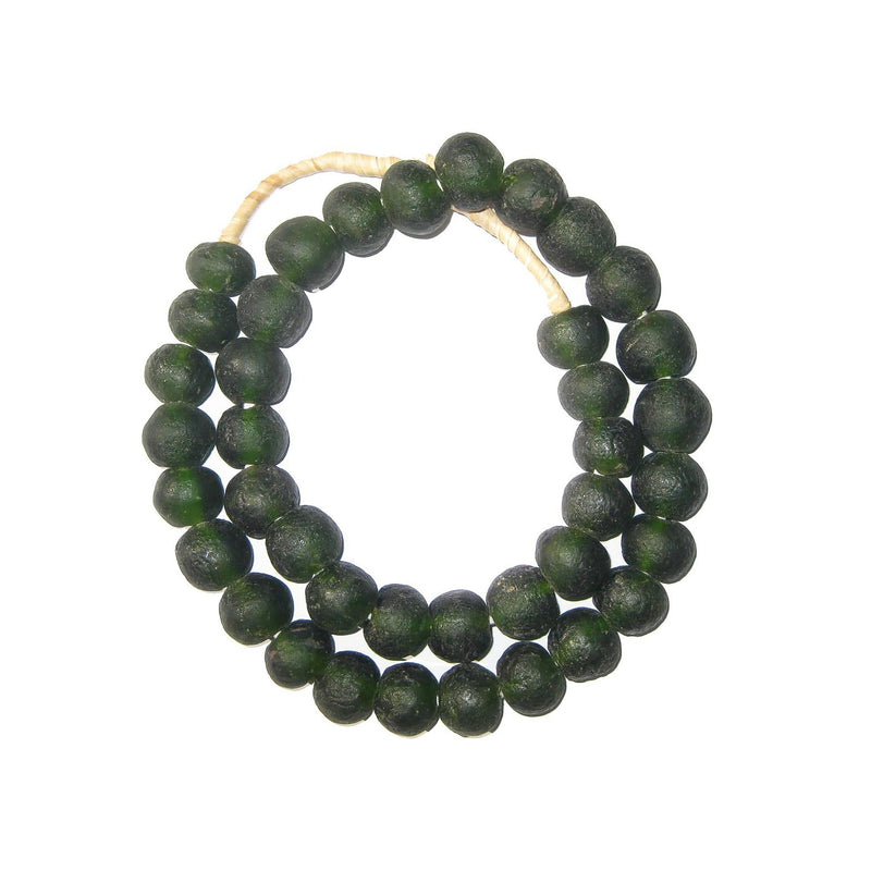 Recycled Glass Beads - 18mm