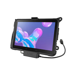 RAM® EZ-Roll'r™ Power & Data Cradle for Samsung Galaxy Tab Active Pro (RAM-HOL-SAM52PDU)-Image-1