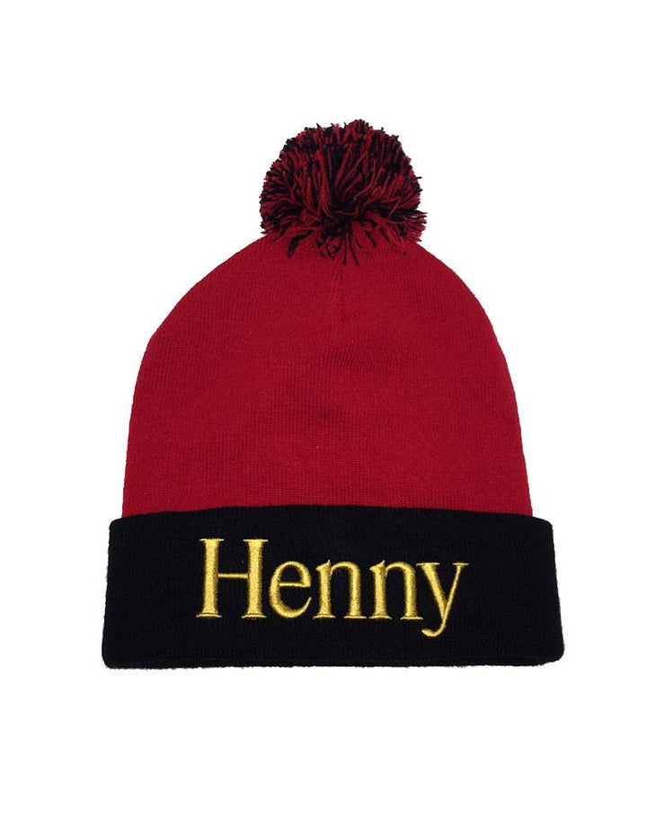 Connetic-Henny-Beanie-Red-Black