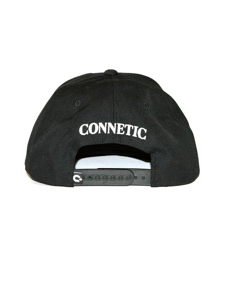 Connetic-Henny-Snapback-Black-White-2