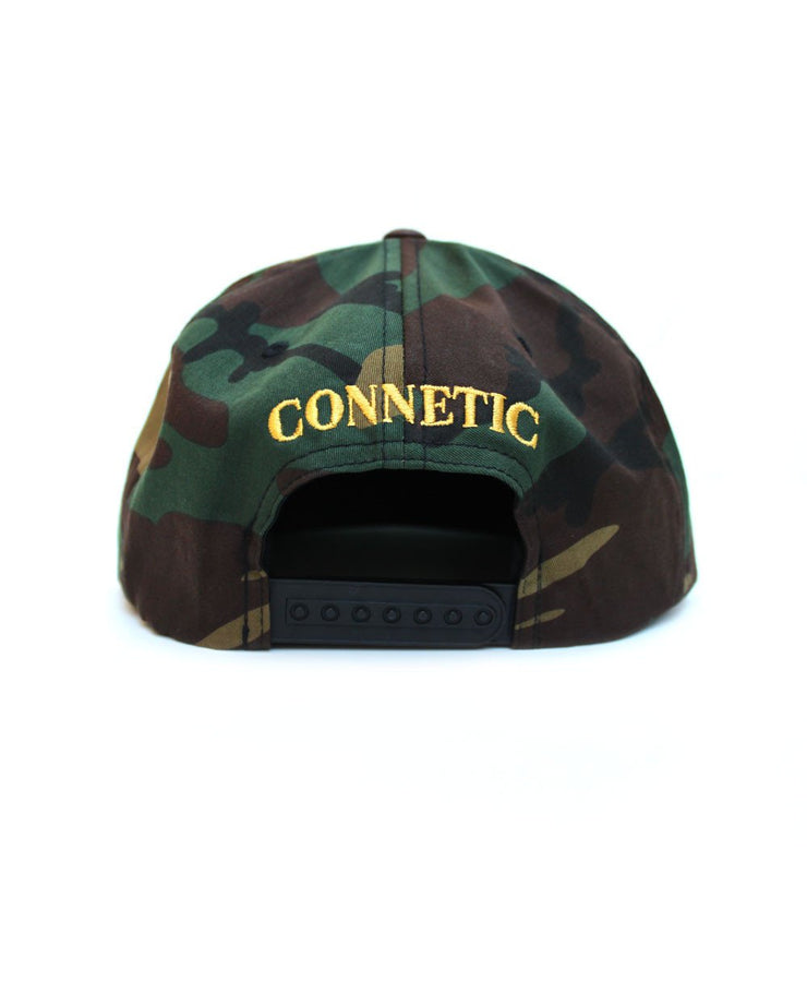 Connetic-Henny-Snapback-Camo-Back