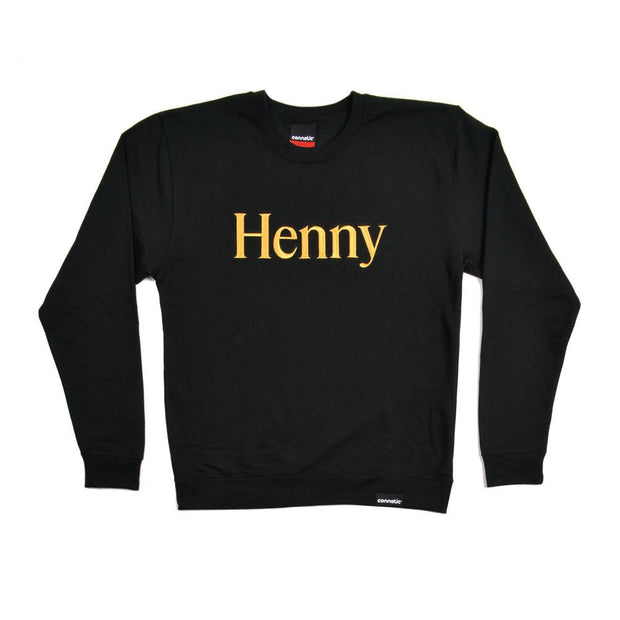 Henny Embroidered Logo Crewneck