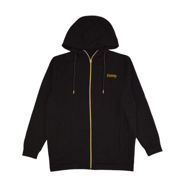 Henny Tech Fleece Zip Up Hoodie
