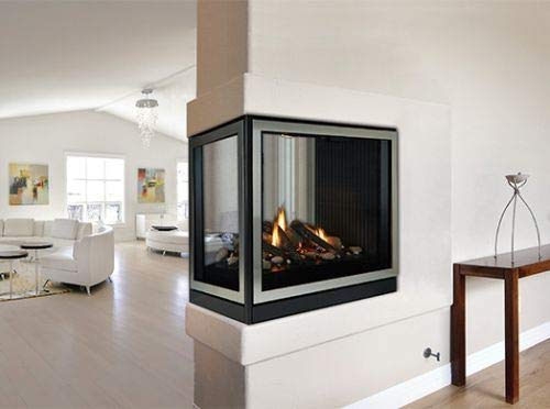 Empire Comfort Systems Tahoe Premium 36 Clean Face DV MV Peninsula Fireplace - Natural Gas