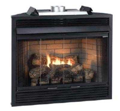 "Empire Comfort Systems Deluxe MV 36"" Flush Face B-Vent Fireplace - Natural Gas"