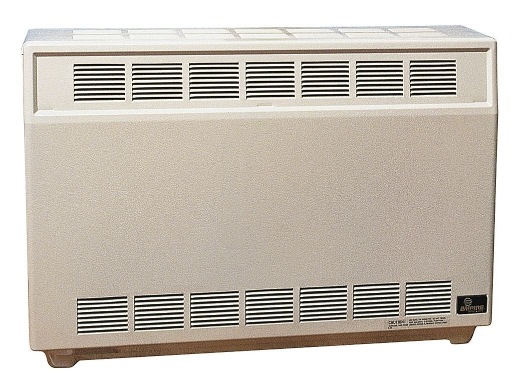 "Empire Room Heater 35000 Btu Ng 37 "" W X 11-1/2 "" D X 26 "" H 1/2 "" Npt"