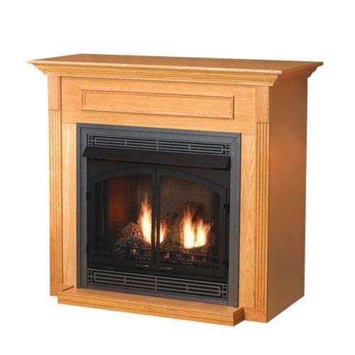 Empire Comfort Systems EMF-22-UH Unfinished Hardwood Cabinet Mantel wi