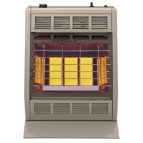 Empire Infrared Heater Natural Gas 18000 BTU, Manual Control 3 Settings