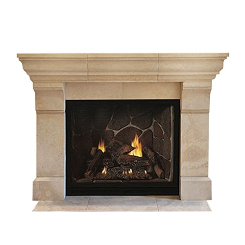 "Empire Comfort Systems Tahoe DV 42"" Clean Face IP Luxury Fireplace - NG"