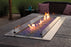 Empire Carol Rose 48-inch Natural Gas Outdoor Linear Fire Pit Kit W/Manual Electronic Ignition & Led Light System - OL48TP18N