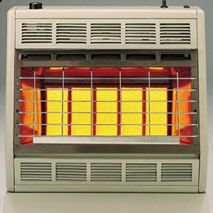 Empire Infrared Heater Natural Gas 30000 BTU, Thermostatic Control