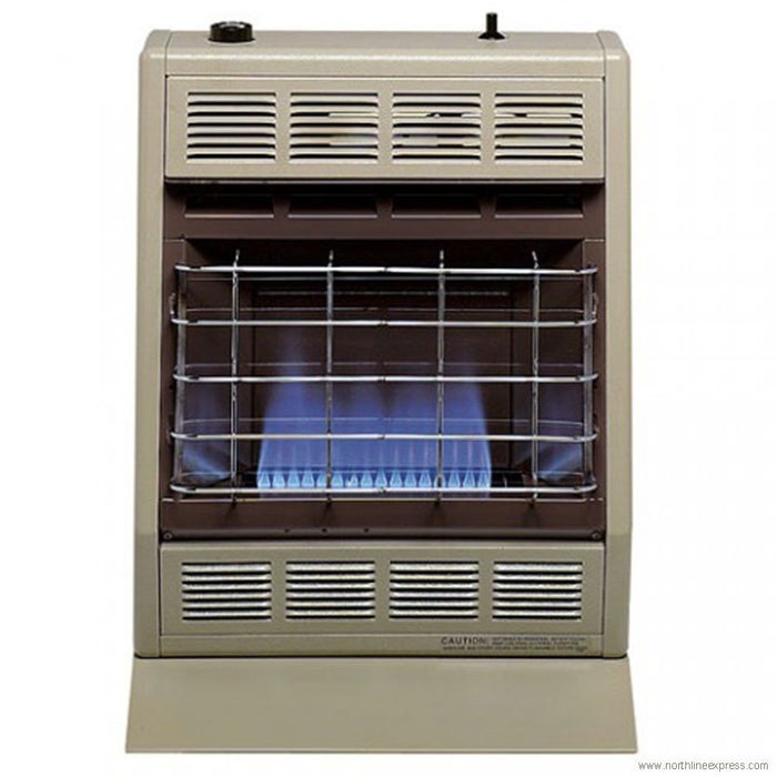 Empire Vent-Free Blue Flame Heater Natural Gas 10000 BTU, Thermostatic Control