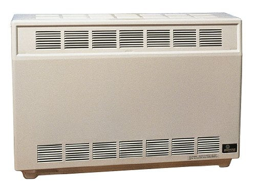 Empire Room Heater 25000 Btu Nat Gas Fired Room Heater, 37 In. W, 26 In. H