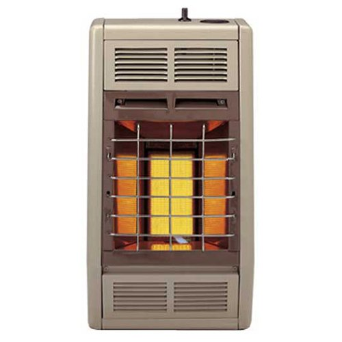 Empire Infrared Heater Liquid Propane 10000 BTU, Thermostatic Control