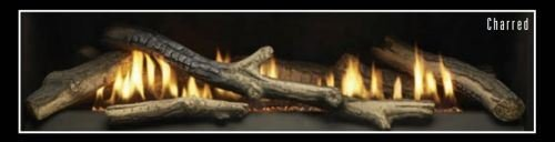 Empire Comfort Systems Ceramic Fiber 5 Piece Charred Fireplace Log Set- LOGS ONLY