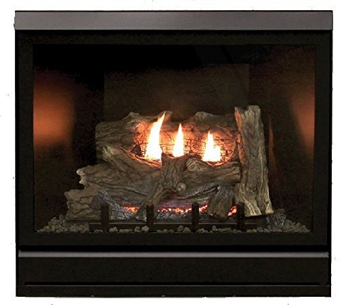 "Empire Comfort Systems Tahoe Clean Face Direct Vent IPC Deluxe 36"" NG Fireplace with Blower"