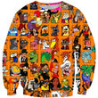 NEW LIMITED EDITIONS 2019 Toy Story 4 Long Sleeve Sweatshirts Toy Collection