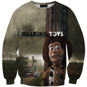 NEW LIMITED EDITIONS 2019 Toy Story 4 Long Sleeve Sweatshirts Woody