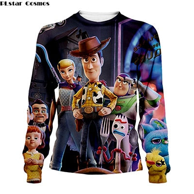 2019 NEW 3D Toy Story 4 Sweatshirt