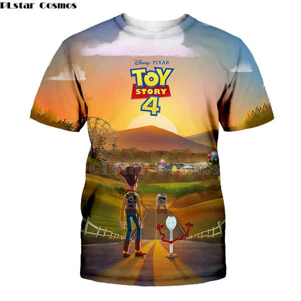 2019 NEW Limited Edition 3D Toy Story 4 T-Shirt