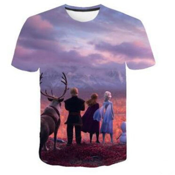 LIMITED EDITION NEW Frozen 2 shirt Sunset