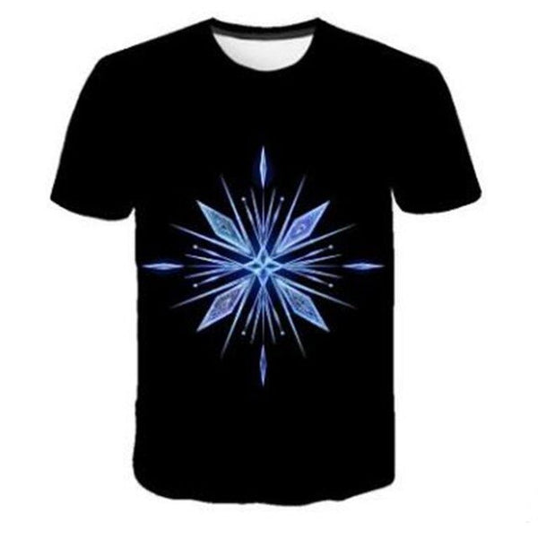 NEW Frozen 2 shirt Snow Crystal