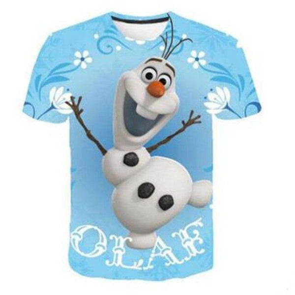 NEW Frozen 2 shirt Olaf