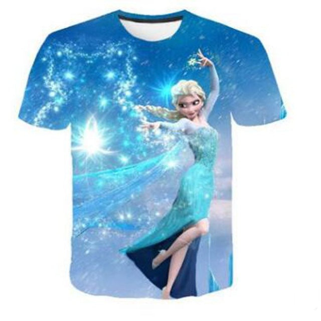NEW Frozen 2 shirt Elsa Snow Wind