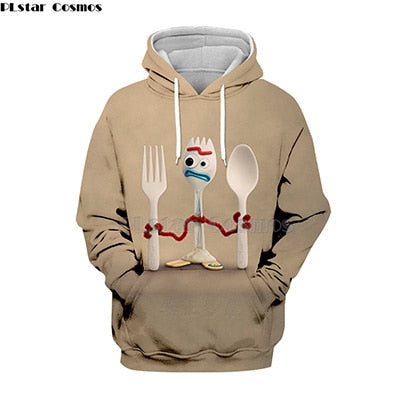 NEW 2019 Toy Story 4 The Walking Toys Hoody