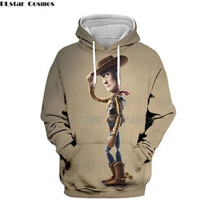 2019 new Toy Story 4 Woody Sheriff HOODY