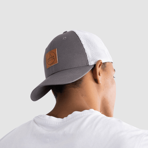 ASC Grey Trucker backwards